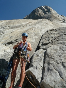 Niall McCann at the base of El Capitan.