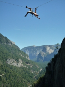 Niall McCann in Yosemite.