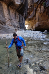 Finn McCann in Zion Canyon