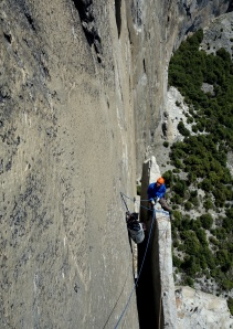 Seamus McCann on Texas Flake, El Capitan